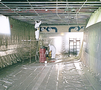 Mold Removal in industrial facility